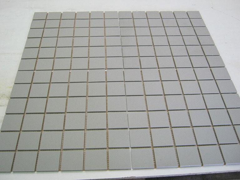 0005 Mat grå mosaik Gulv væg - 30,5x30,5cm 35 m²