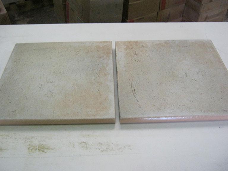 0009-Villeray og Boch Grå meleret Gulv - 20x20cm 16 m² - Kr.100,-/m²
