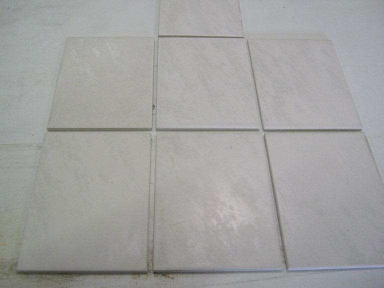 0012-Villeroy og Boch Junior Collection Hvid meleret Vægfliser - 15x20cm 30 m² - Kr.75/m²