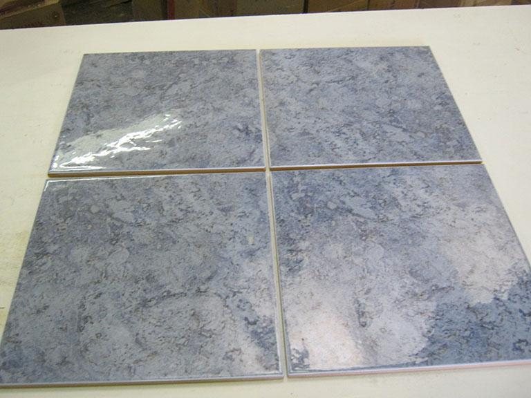 """0015-Sant'ago Stine"""" - Italien Blank blå meleret Vægflise gulv - 30x30cm 54 m² - Kr.75/m²"""