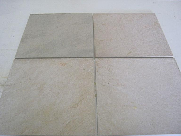 "0019-""Ceramica Magica"" - Italien Lys grå meleret Gulvfliser - 31x31cm 7 m² - Kr.50/m²"