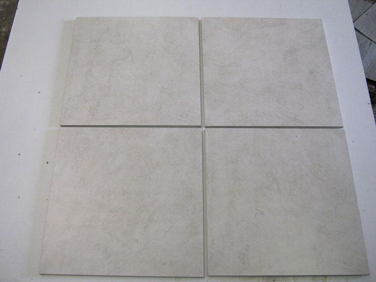 0036-Sphinx Hvid meleret Gulvflise - 29x29cm 6 m² - Kr.50/m²