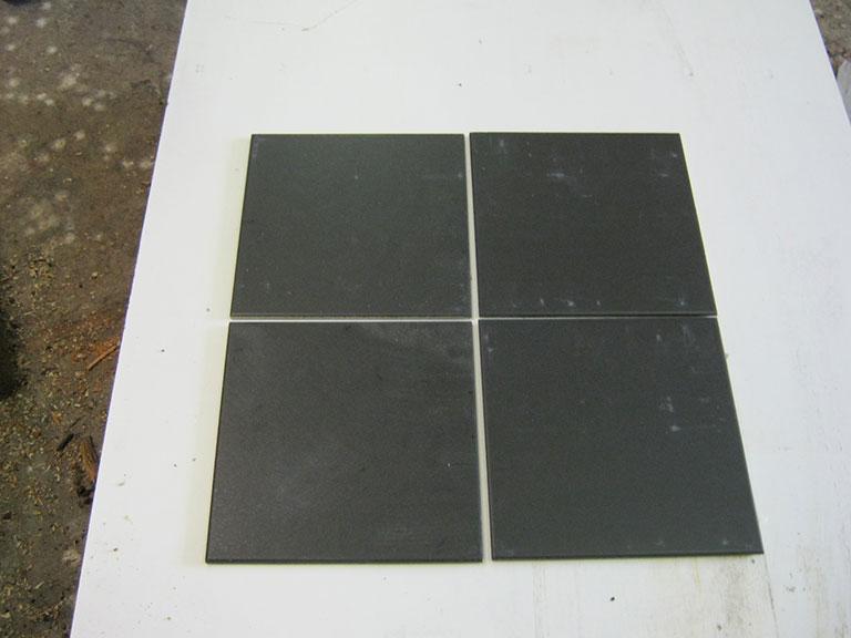 0038-Sphinx Mat sort Gulvflise - UDSOLGT