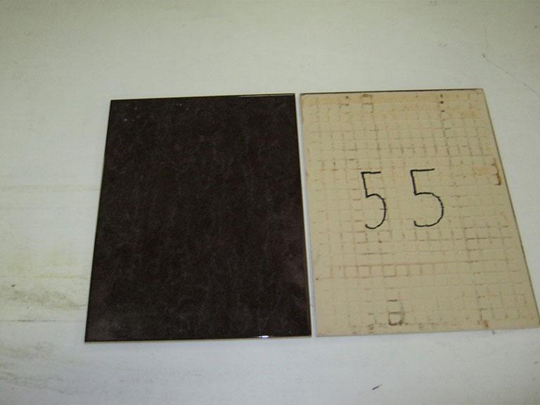 0055-Sphinx Mørk rødbrun Vægflise - 30x40 9,5 m²