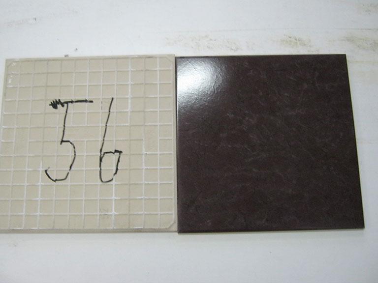 0056-Phimx Mørk rødbrun Gulvflise - 30x30cm 5 m² - Kr.75/m² Bemærk: Passer til foregående flise