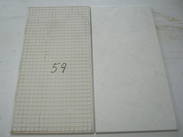 0059-Tagina Hvid struktur med blanke stænk Gulvfliser - 30x60cm 10 m²