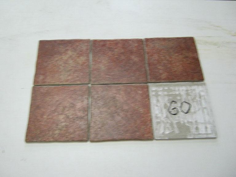 0060-Nova Bell Brun meleret bløde kanter Gulvfliser - 20x20cm 32 m²