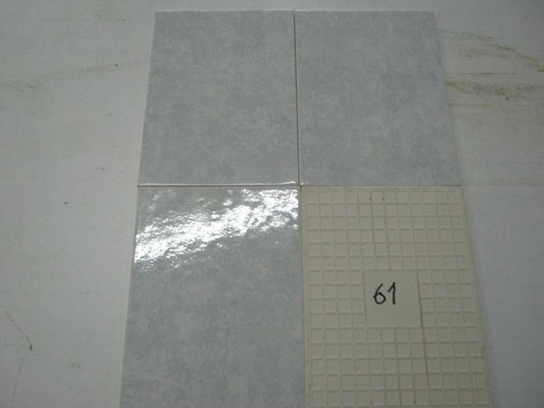 0061-Villeroy og Bach Blank svag grøn nister Væg-fliser - 25x35cm 42 m²