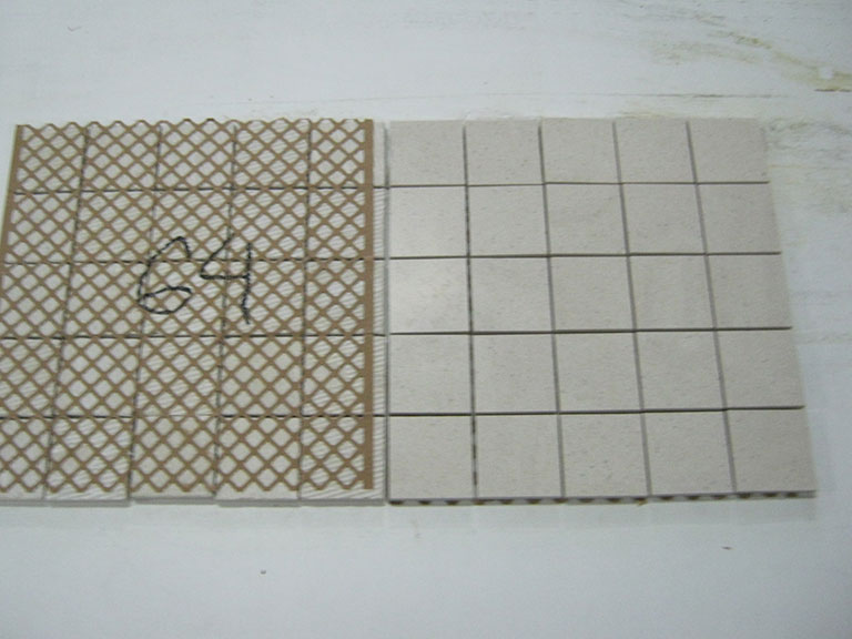 0064-Flora Gress Brige Mosaik gulv/Vægflise 30x30cm 10 m²