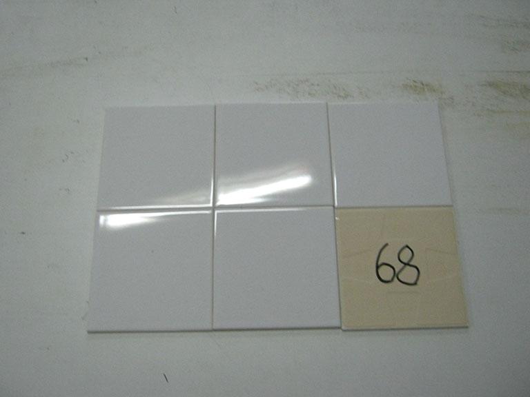 0068-Sphinx Hvid blank Vægflise - 15x15cm 30 m² - Kr.50/m²