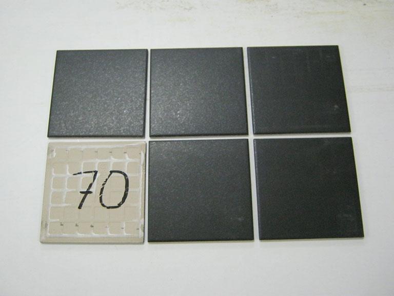 0070-Sphinx Mat sort Vægflise - 15x15cm 20 m²