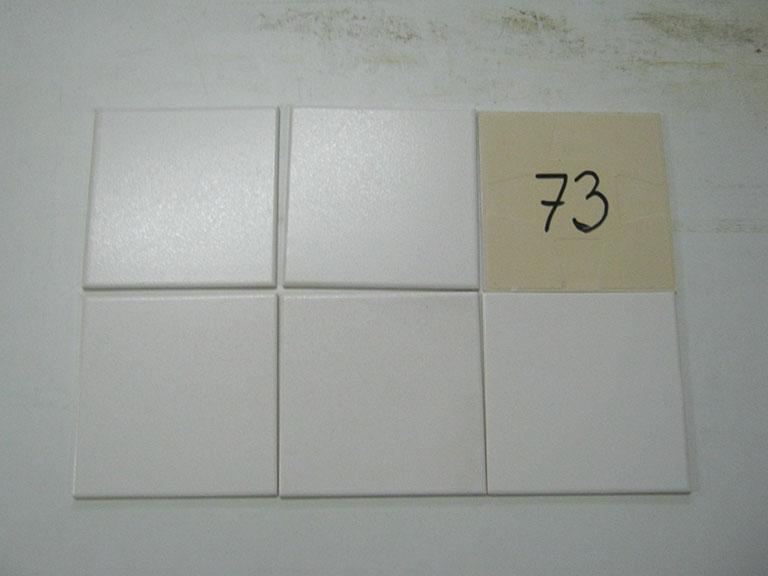 0073-Wandtegels Hvid Vægflise - 15x15cm 150 m² - Kr.30/m²