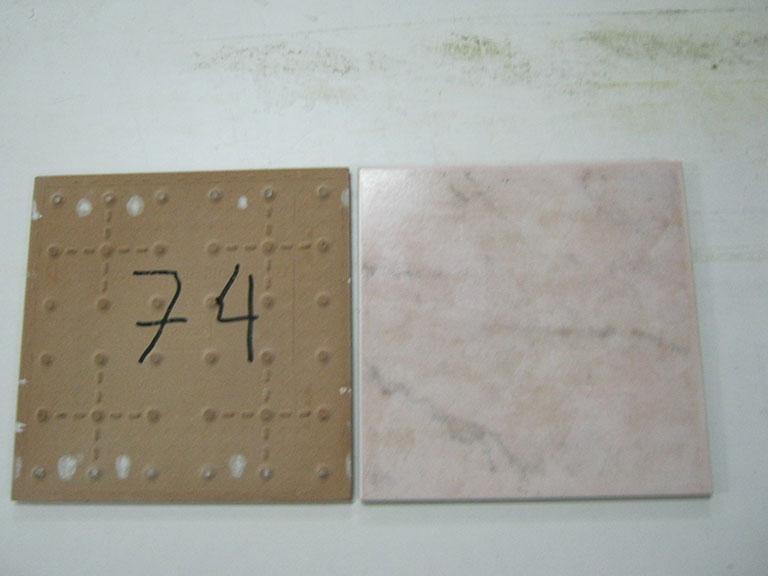 0074-Wandtegels Hvid Vægflise - 15x15cm 150 m² - Kr.30/m²