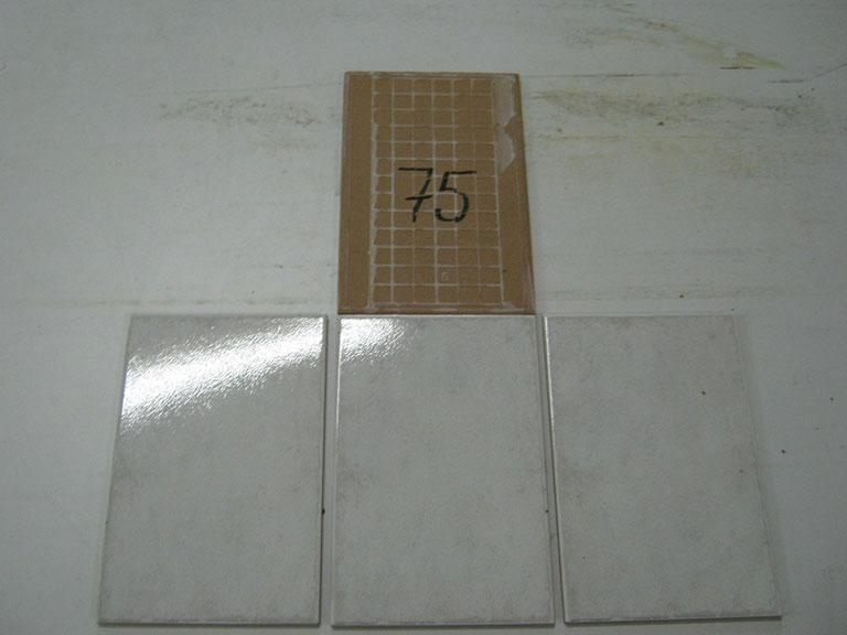0075-Wandtegels Hvid Vægflise - 15x15cm 150 m² - Kr.30/m²