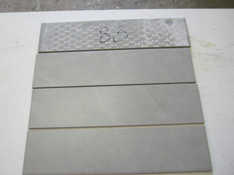 0083-Wandtegels Hvid Vægflise - 15x15cm 150 m² - Kr.30/m²