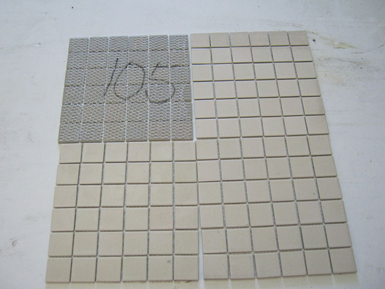 0105-Color Mosaite Mosaik - Brige Gulv/vægflise - 29x29cm (4,5x4,5cm) 12,5 m² - Kr.1000 i alt