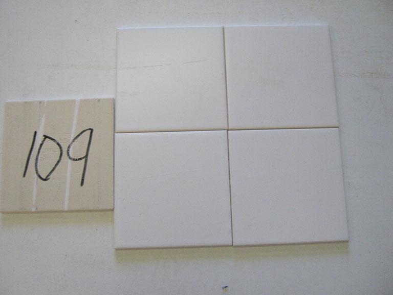 0109-Vileroy og Boch Mat hvid Væg flise - 15x15cm 17 m² - Kr.1000 i alt