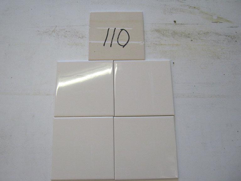 0110 Vileroy og Boch Blank hvid Væg flise - UDSOLGT