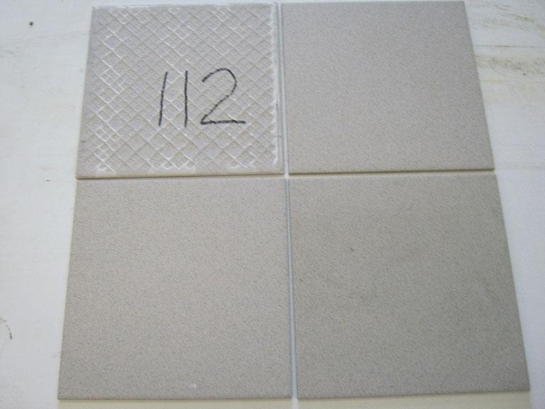 0112-Vileroy og Boch Lys grå nisteret Gulv flise - 30x30cm 7 m² - Kr.500 i alt