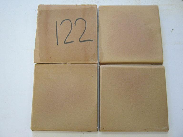 0122-Balbosc Dankar Rød tegl Rustik - Stærk gulv tegl - 20x20x2cm 8 m² - Kr.100/ m²