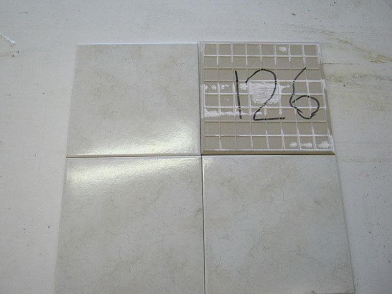 0126-Sphinx Grå meleret Gulv flise - 25x25cm 20,5 m² - Kr.75/ m²