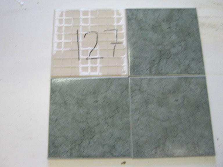 0127-Sphinx Blågrøn meleret Gulv flise - 25x25cm 8 m² - Kr.75/ m²