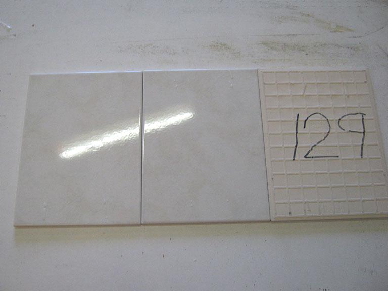 0129-Sphinx Blank hvid meleret Væg flise - 25x33cm 11 m² - Kr.75/ m²