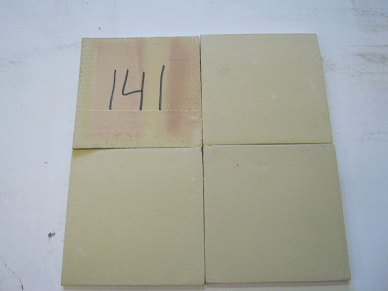 0141 Gul tegl 23,8x23,8cm 5,5 m² - Kr.400 i alt