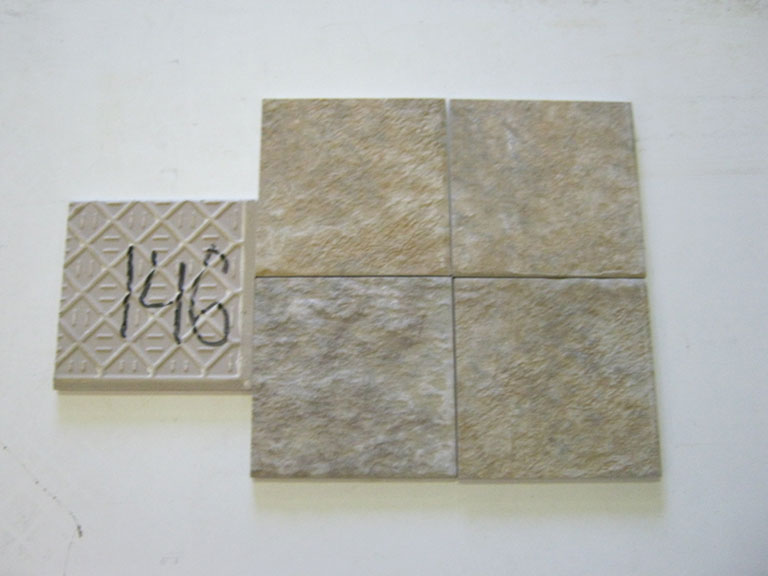 0146-Macica Rustik Meleret Gulv flise - 15x15cm 8 m² - Kr.750 i alt